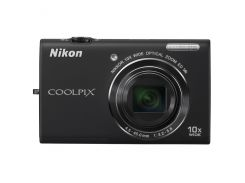Фотоаппарат Nikon Coolpix S6200 Black