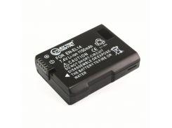 Аккумулятор Nikon EN-EL14 с чипом, Extradigital, 1150 mAh / 7.4 V, Li-Ion, для CoolPix P7000/P7100/P7700, D3100/D3200/D5100/D5200 (BDN2522)