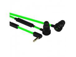 Наушники RAZER Hammerhead Pro V2 (RZ04-01730100-R3G1) Black/Green, Mini jack (3.5 мм), вакуумные, футляр, кабель 1.3 м