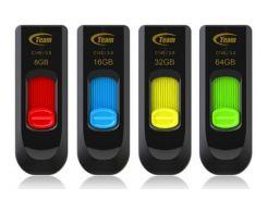 Флешка 32Gb Team C141 Yellow / TC14132GY01