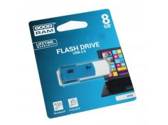 Флешка 8Gb Goodram Colour Mix Blue/White / 16/9Mbps / UCO2-0080MXR11