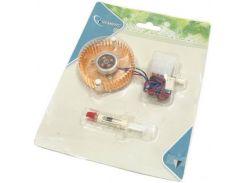 Кулер для видеокарты Gembird VC-RD с подсветкой, алюминиевый