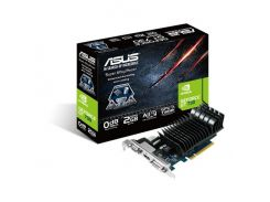 Видеокарта GeForce GT730, Asus, 2Gb DDR5, 64-bit, VGA/DVI/HDMI, 902/5010MHz (GT730-2GD5-BRK)