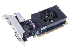 Видеокарта GeForce GT730, Inno3D, 1Gb DDR5, 64-bit, VGA/DVI/HDMI, 902/5000 MHz, Low Profile (N730-3SDV-D5BX)