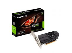 Видеокарта GeForce GTX1050 OC, Gigabyte, 2Gb DDR5, 128-bit, DVI/2xHDMI/DP, 1506/7008 MHz, Low Profile (GV-N1050OC-2GL)