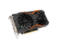 Видеокарта GeForce GTX1050 OC, Gigabyte, GAMING, 2Gb DDR5, 128-bit, DVI/3xHDMI/DP, 1556/7008 MHz (GV-N1050G1 GAMING-2GD)
