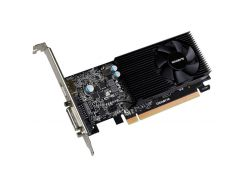 Видеокарта GeForce GT1030 OC, Gigabyte, 2Gb DDR5, 64-bit, DVI/HDMI, 1506/6008MHz, Low Profile (GV-N1030D5-2GL)