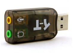 Звуковая карта USB 2.0, 5.1, Box