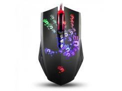 Мышь A4Tech A60 Bloody Black, USB Gaming, 100-8200 DPI