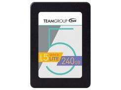 SSD 240Gb, Team L5 Lite, SATA3, 2.5', MLC, 530/300 MB/s (T2535T240G0C101)