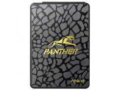 SSD 240Gb, Apacer AS340 Panther, SATA3, 2.5', TLC, 505/410 MB/s (AP240GAS340G-1)