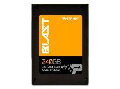 SSD 240Gb, Patriot Blast, SATA3, 2.5', TLC, 560/490 MB/s (PBT240GS25SSDR)