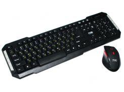 Комплект HQ-Tech KM-219RF Gray, 2.4G, USB nano, мультимедия