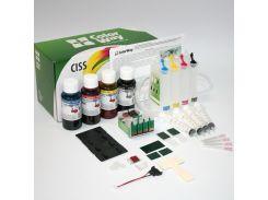 СНПЧ ColorWay Epson S22, SX125/130/230/235/420/425/430/435/440/445, BX305, чипы с батарейками, 4x100 г чернил (SX130CC-4.1B)