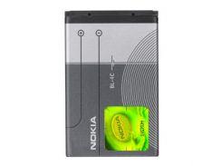 Аккумулятор (батарея) Nokia BL-4C, Original, 890 mAh (1006, 1202, 1506, 1508, 1661, 1662, 2220 slide, 2228, 2650, 2690, 2705, 3230, 3500 classic,