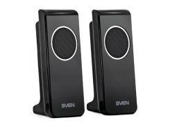 Колонки 2.0 Sven 314 Black USB