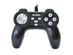 Геймпад SVEN Scout, USB, 8 позиционный, 12 кнопок, резиновые вставки, функция Turbo