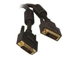 Кабель DVI - 3.0м DVI-D Dual link 24/24 (Black Gold) Y-Y