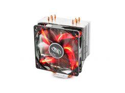 Кулер Deepcool GAMMAXX 400 Red, 121x75.5x144мм 900-1600 об/мин LGA2011-v3/2011/1366/1150/51/55/56/775/FM1/2/AM2/2+/AM3/3+/AM4/K8