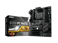 Материнская плата AM4 (B350) MSI B350 PC MATE