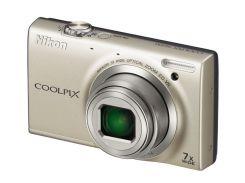 Фотоаппарат Nikon Coolpix S 6100 Silver
