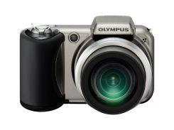 Фотоаппарат Olympus Camedia SP-600UZ Silver-titanium
