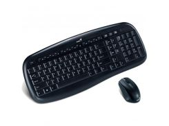 Комплект Genius KB-8000X Wireless, USB (клавиатура+мышь) Black