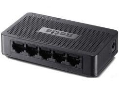 Коммутатор (свитч) NETIS ST3105S, 5 портов, 10/100 Mb, Unmanaged