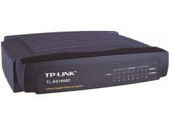 Коммутатор (свитч) TP-LINK TL-SG1008D, 8 портов, 10/100/1000 Mb, Unmanaged