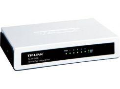 Коммутатор (свитч) TP-LINK TL-SF1005D, 5 портов, 10/100 Mb, Unmanaged