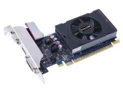 Видеокарта GeForce GT730, Inno3D, 2Gb DDR5, 64-bit, VGA/DVI/HDMI, 902/5000 MHz, Low Profile (N730-3SDV-E5BX)