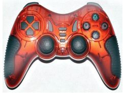 Геймпад Havit HV-G85, Red, USB, 12 кнопок, двойная вибрация, режим 'Турбо'