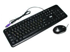 Комплект HQ-Tech KM-102 Gray, (USB),