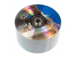 Диск CD-R 50 шт. Videx X-Blue, 700Mb, 52x