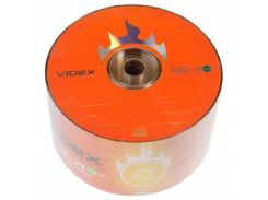 Диск CD-R 50 шт. Videx, 700Mb, 52x, Bulk Box