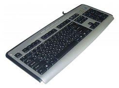 Клавиатура A4tech KL-23MUU X-slim USB доп.USB и разъём д/наушников, 6 прогр кн