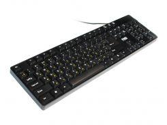 Клавиатура HQ-Tech KB-103 Black, USB