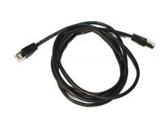 Патч-корд 2 м, FTP, Black, Cablexpert, литой, RJ45, кат.5е (PP22-2M/BK)