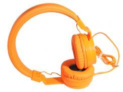 Наушники Gorsun GS-778 Orange, Mini jack (3.5 мм), накладные, кабель 1.2 м