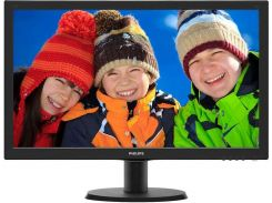 "Монитор 23.6"" Philips 243V5LSB5/01 Black"