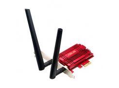 WiFi адаптер Asus PCE-AC56, PCI, двухдиапазонный, до 1300 Mb/s, 2 внешние съемные антенны