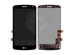 Дисплей (экран) + сенсор (тач скрин) LG X220 K5 Dual Sim black (оригинал)