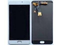 Дисплей (экран) + сенсор (тач скрин) Meizu M3 Note (версия M681h) white (оригинал)