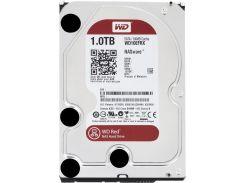 Жесткий диск для компьютера 1Tb Western Digital Red, SATA3, Cache 64Mb, 5400prm, (WD10EFRX)