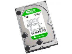 Жесткий диск для компьютера 2Tb Western Digital Green, SATA2, 64Mb, 5400 rpm (WD20EADS)