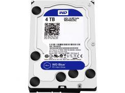 Жесткий диск для компьютера 4Tb Western Digital Blue, SATA3, 64Mb, 5400 rpm (WD40EZRZ)