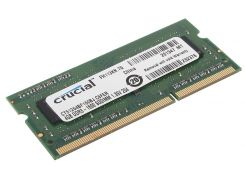 Оперативная память so-dimm для ноутбука 4Gb, DDR3, 1600 MHz (PC3-12800), Crucial, 1.35V (CT51264BF160BJ)