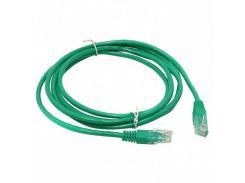 Патч-корд 0.5 м, FTP, Green, Cablexpert, литой, RJ45, кат.5е / PP6-0.5M/G