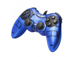 Геймпад Esperanza Fighter EGG105B Blue, USB, 12 кнопок