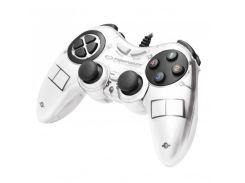 Геймпад Esperanza Fighter EGG105W White, USB, 12 кнопок
